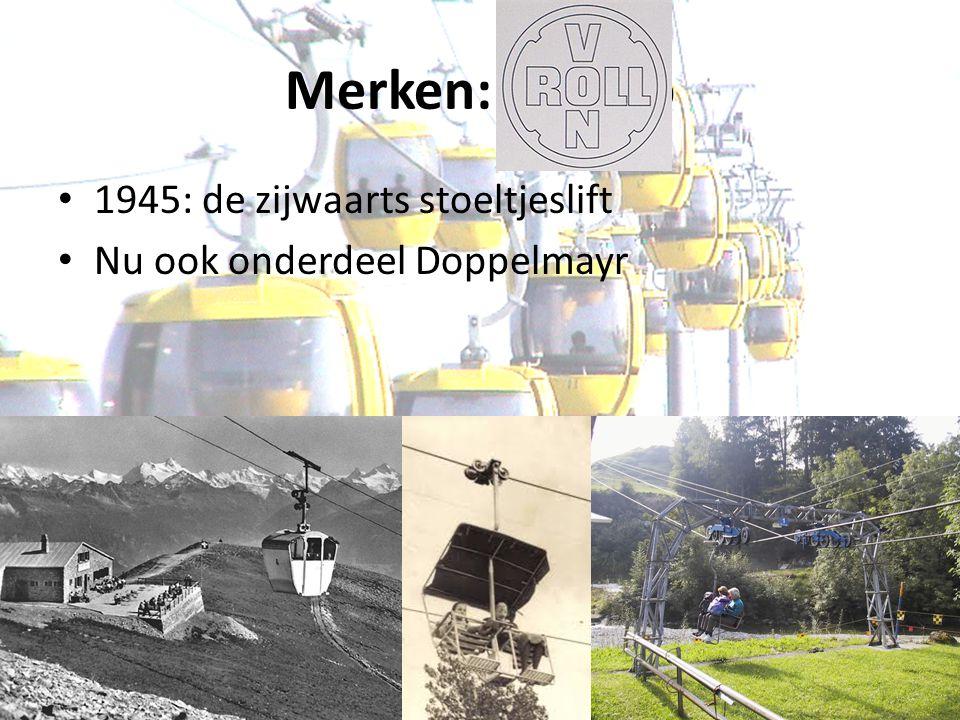 Merken: Von Ro 1945: de zijwaarts stoeltjeslift