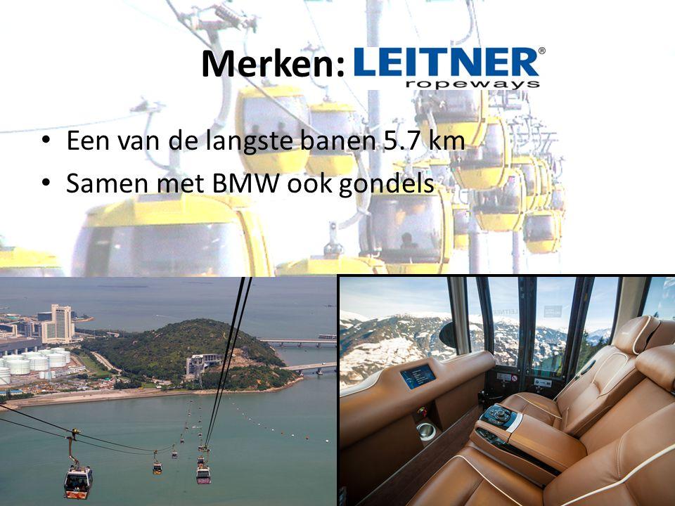 Merken: Leitner Een van de langste banen 5.7 km