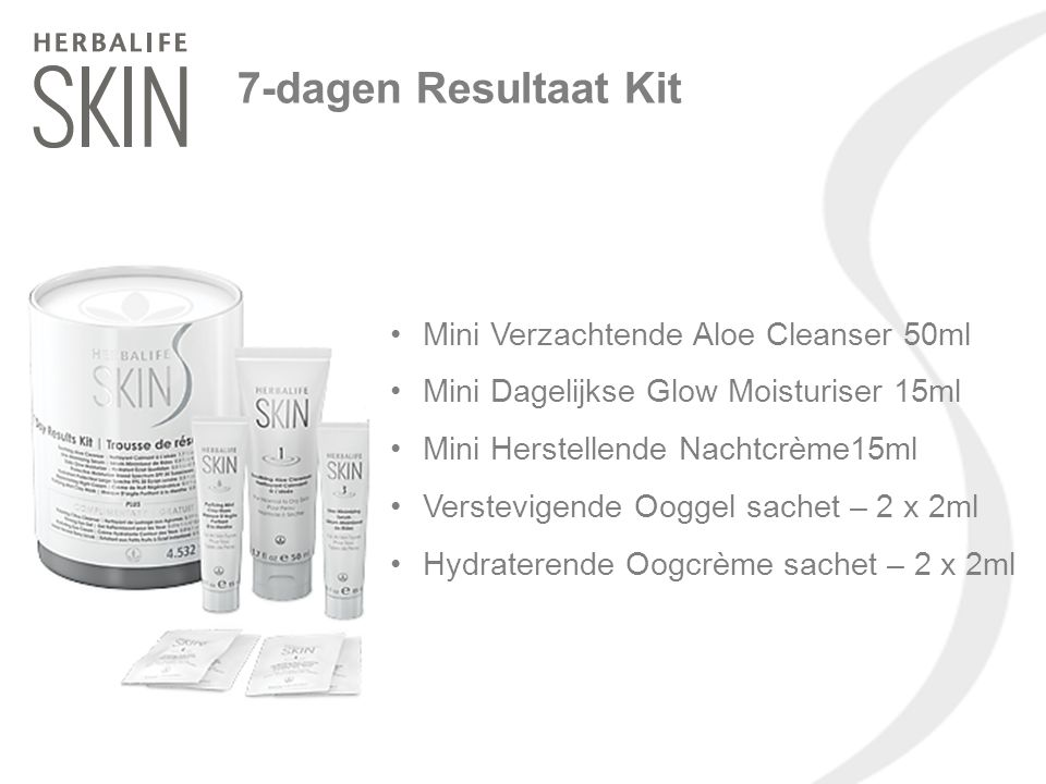 7-dagen Resultaat Kit Mini Verzachtende Aloe Cleanser 50ml