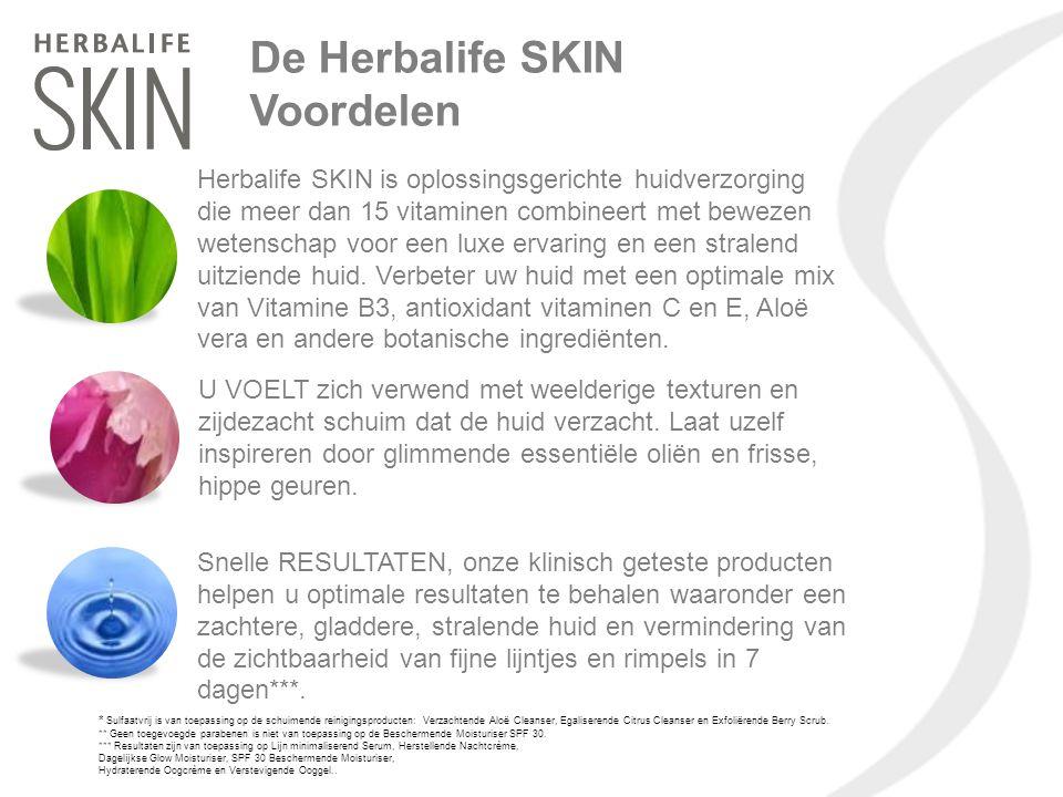 De Herbalife SKIN Voordelen