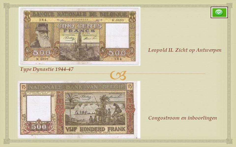 Leopold II. Zicht op Antwerpen