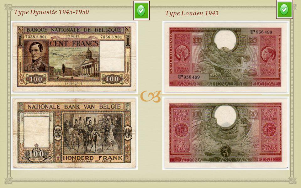 Type Dynastie 1945-1950 Type Londen 1943