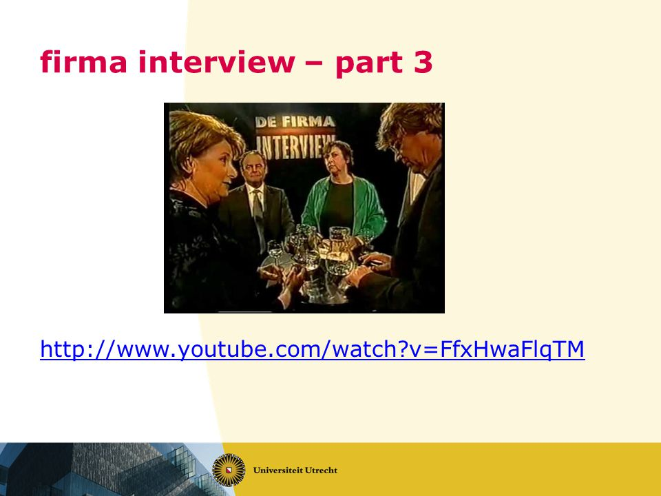 firma interview – part 3 http://www.youtube.com/watch v=FfxHwaFlqTM