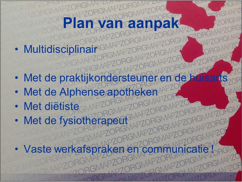 Plan van aanpak Multidisciplinair