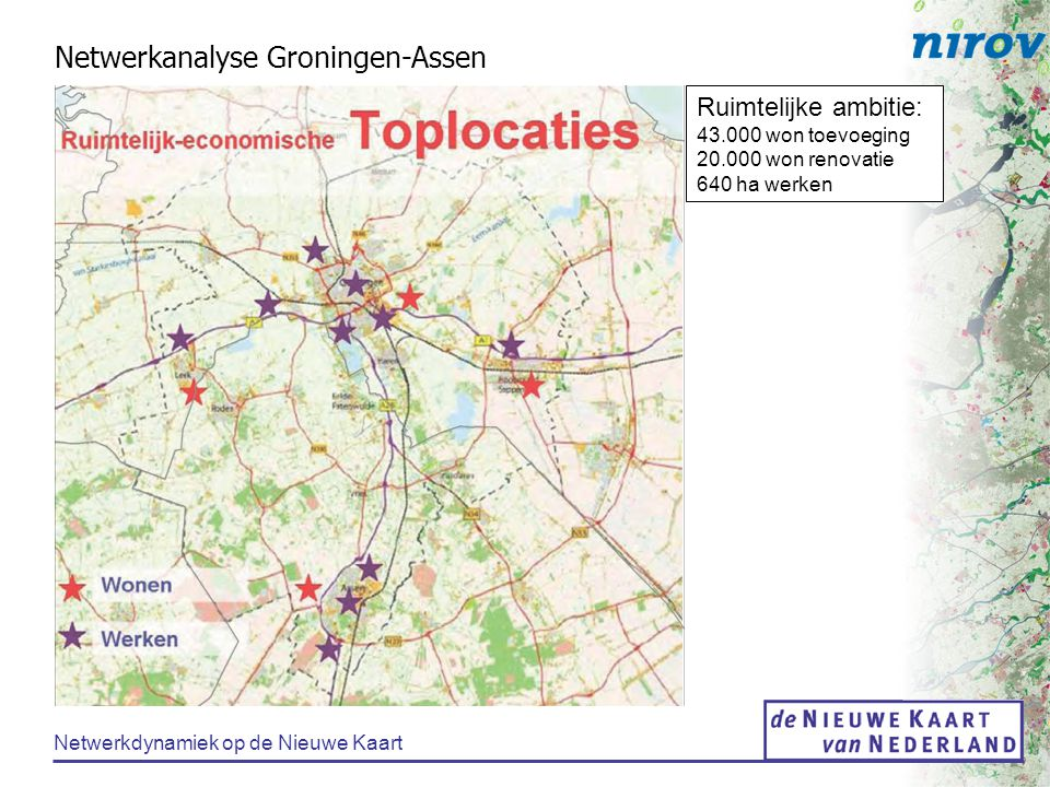 Netwerkanalyse Groningen-Assen