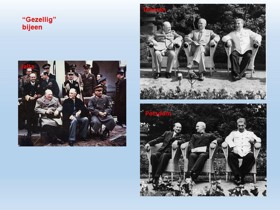 Teheran Gezellig bijeen Jalta Potsdam