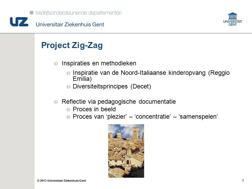 Project Zig-Zag Inspiraties en methodieken