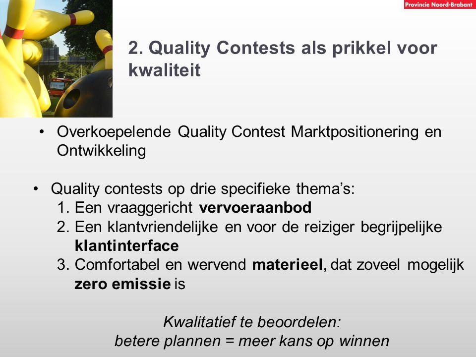 2. Quality Contests als prikkel voor kwaliteit