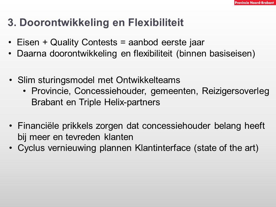 3. Doorontwikkeling en Flexibiliteit