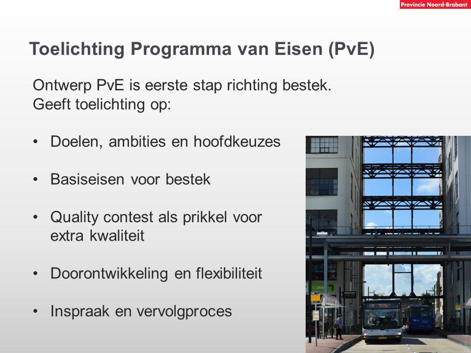 Toelichting Programma van Eisen (PvE)