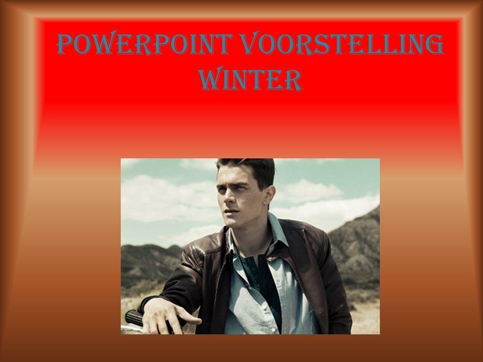 Powerpoint voorstelling winter