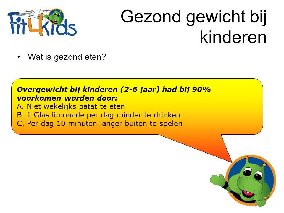 Gezond gewicht bij kinderen