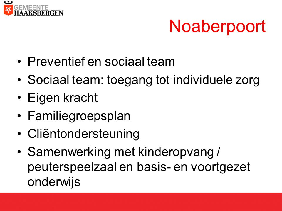 Noaberpoort Preventief en sociaal team