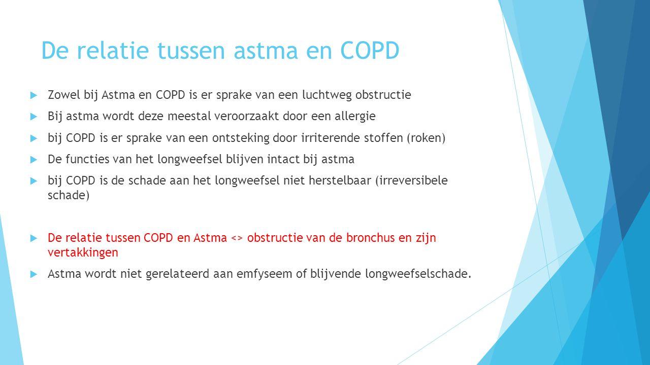 De relatie tussen astma en COPD