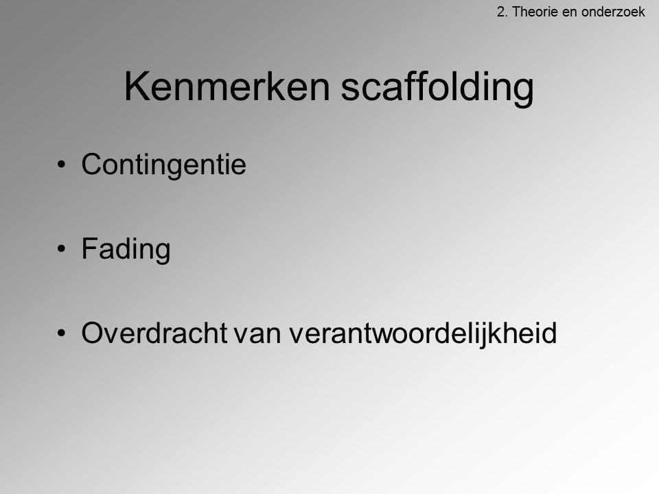 Kenmerken scaffolding