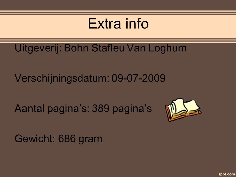 Extra info Uitgeverij: Bohn Stafleu Van Loghum