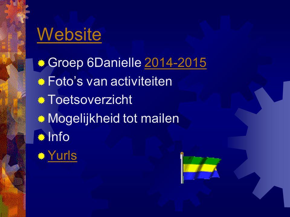 Website Groep 6Danielle 2014-2015 Foto's van activiteiten