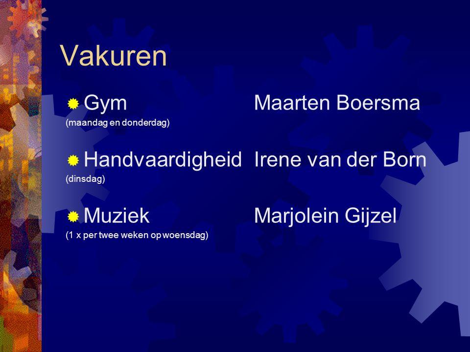 Vakuren Gym Maarten Boersma Handvaardigheid Irene van der Born
