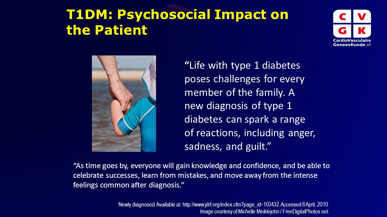 T1DM: Psychosocial Impact on the Patient