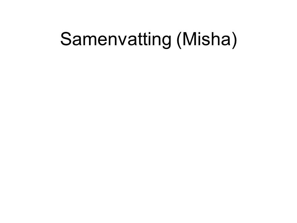 Samenvatting (Misha)