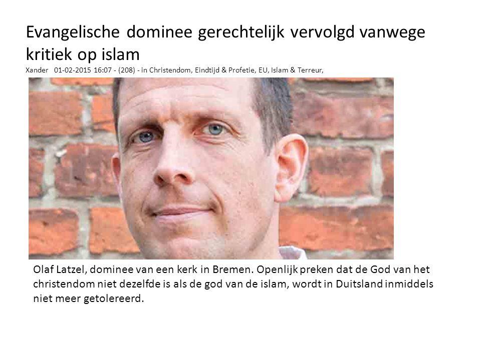Evangelische dominee gerechtelijk vervolgd vanwege kritiek op islam