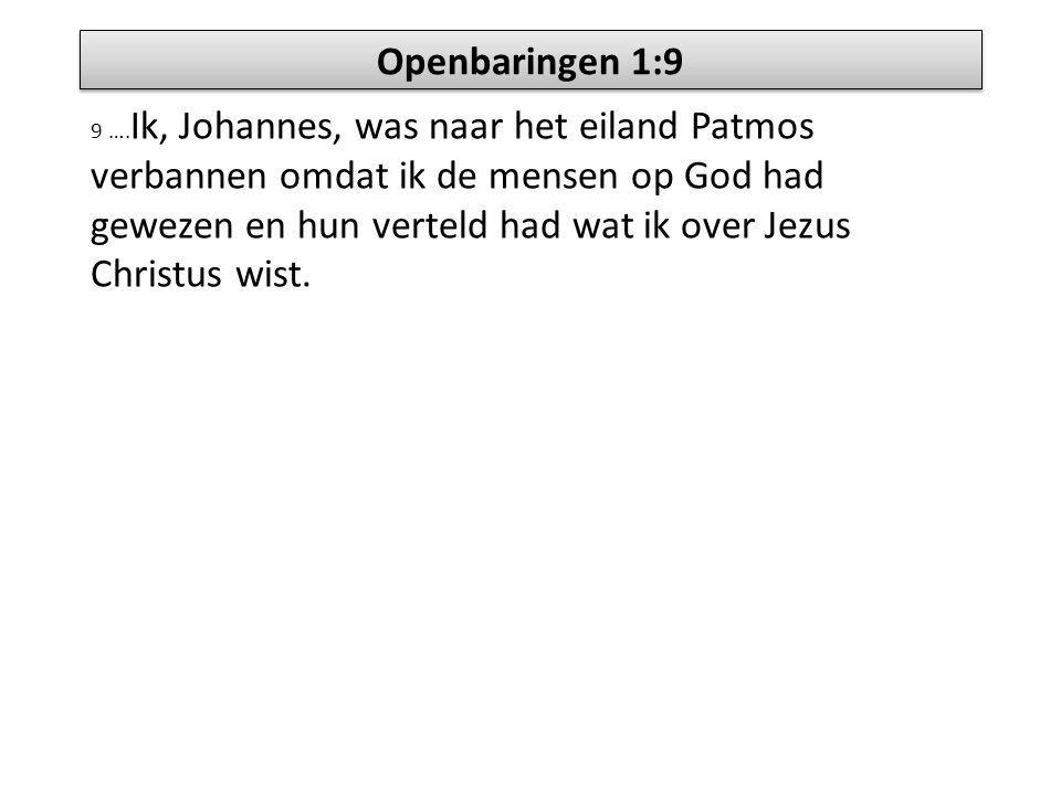 Openbaringen 1:9