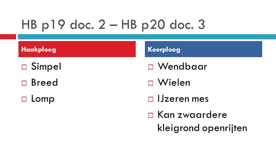 HB p19 doc. 2 – HB p20 doc. 3 Simpel Breed Lomp Wendbaar Wielen