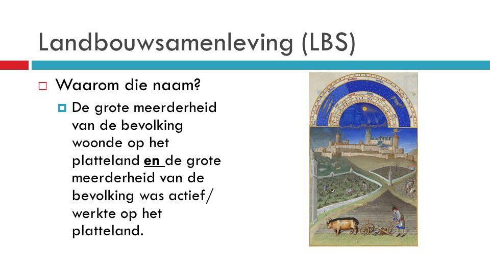 Landbouwsamenleving (LBS)