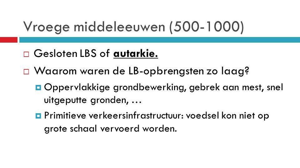 Vroege middeleeuwen (500-1000)