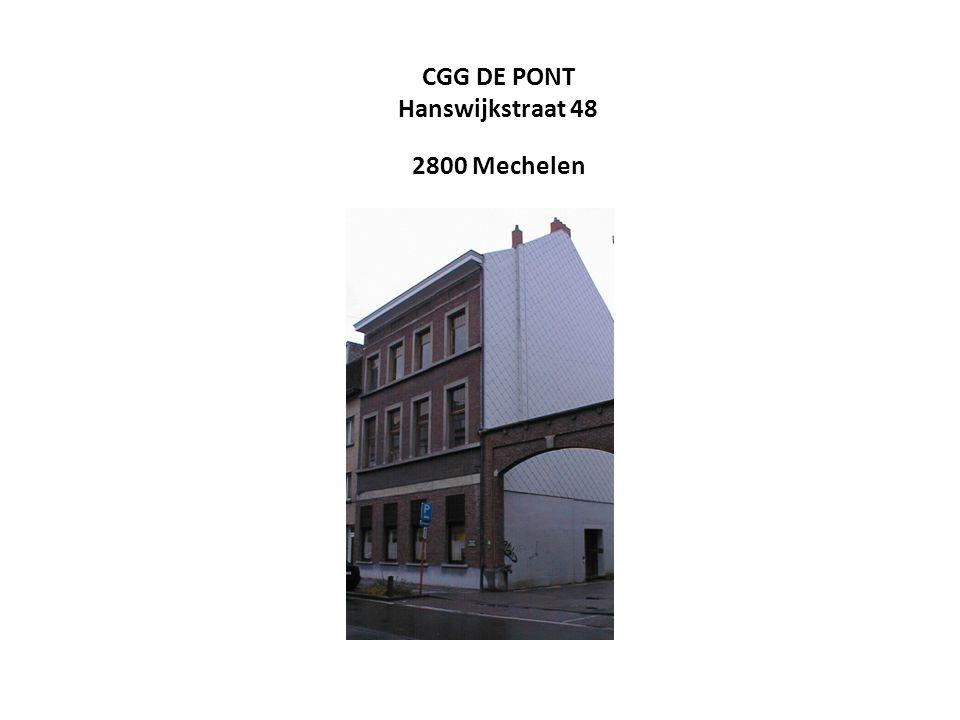 CGG DE PONT Hanswijkstraat 48 2800 Mechelen