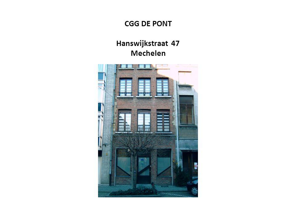 CGG DE PONT Hanswijkstraat 47 Mechelen