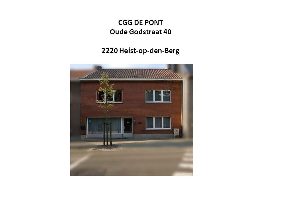 CGG DE PONT Oude Godstraat 40 2220 Heist-op-den-Berg