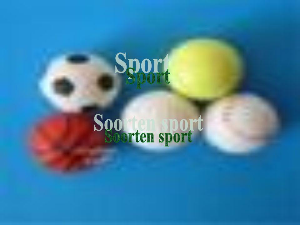 Sport Soorten sport