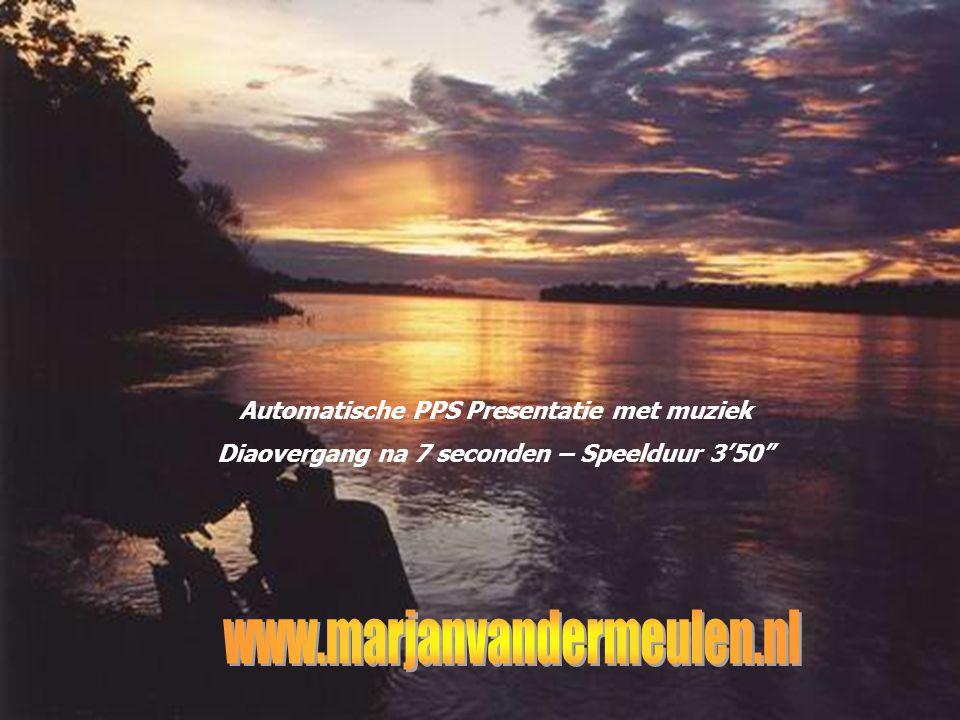 www.marjanvandermeulen.nl Automatische PPS Presentatie met muziek