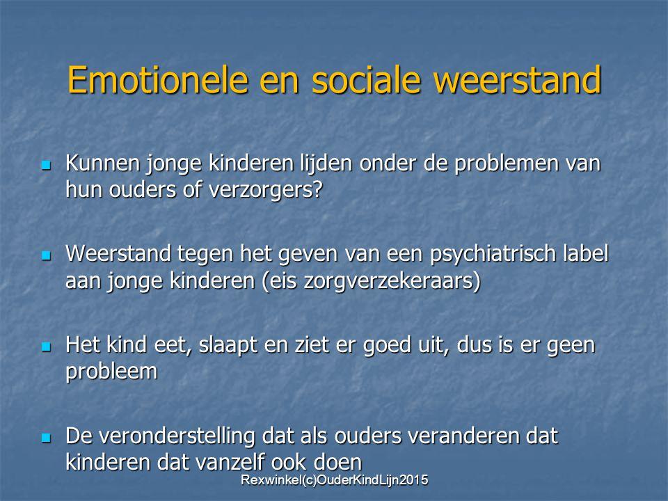 Emotionele en sociale weerstand