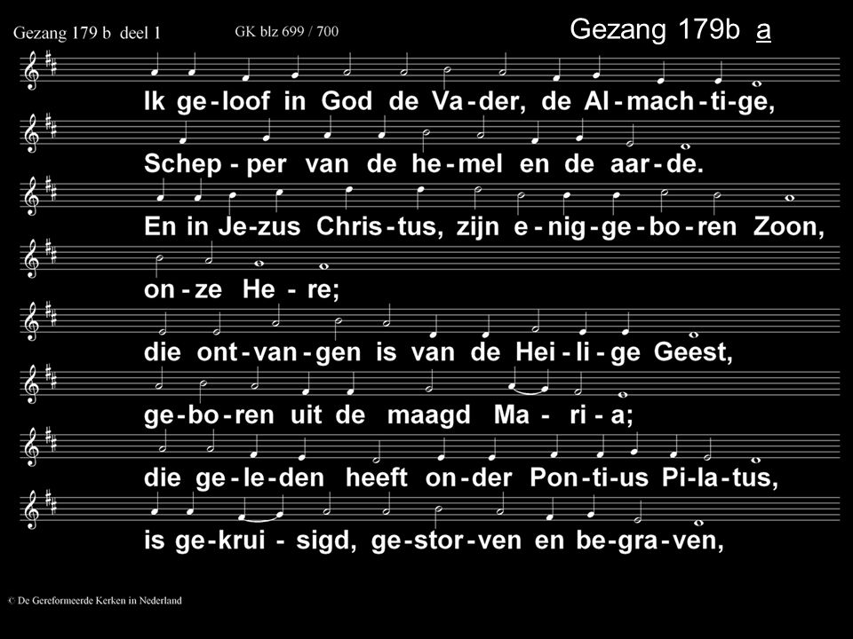 Gezang 179b a