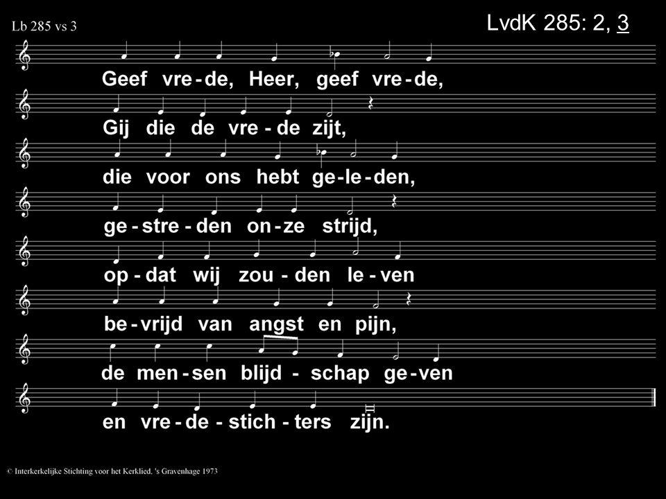 LvdK 285: 2, 3