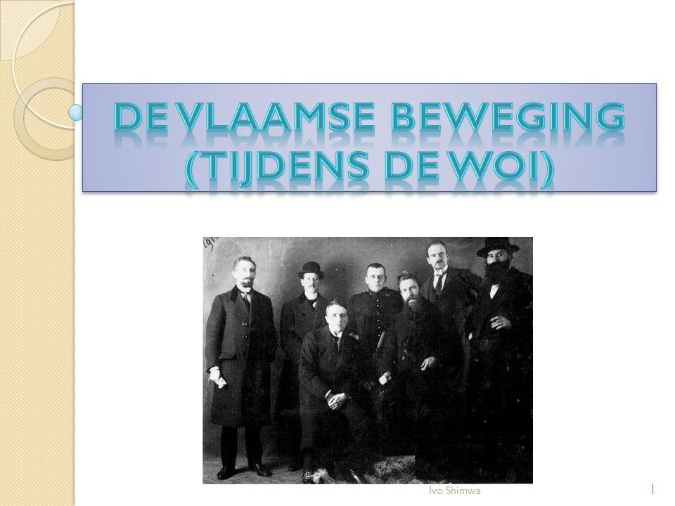 De Vlaamse beweging (tijdens de WOI)