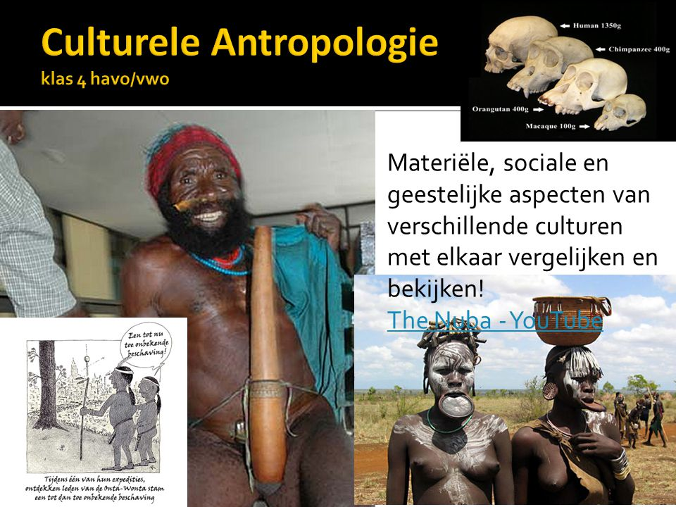 Culturele Antropologie klas 4 havo/vwo