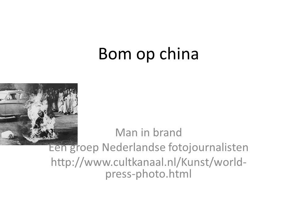 Een groep Nederlandse fotojournalisten