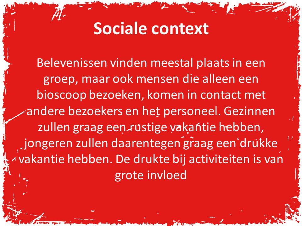 Sociale context