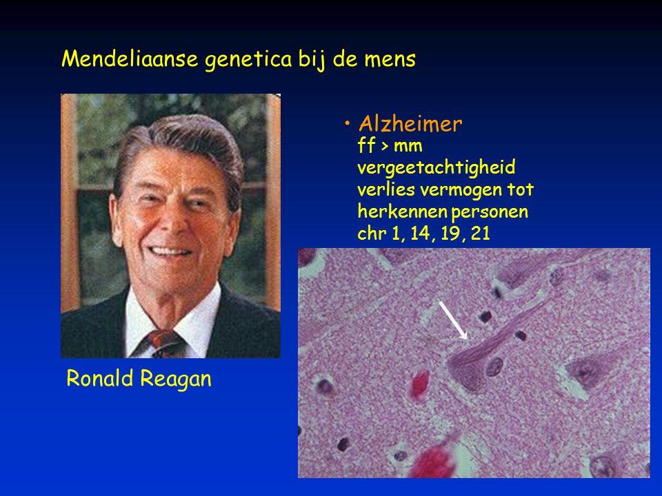 Mendeliaanse genetica bij de mens