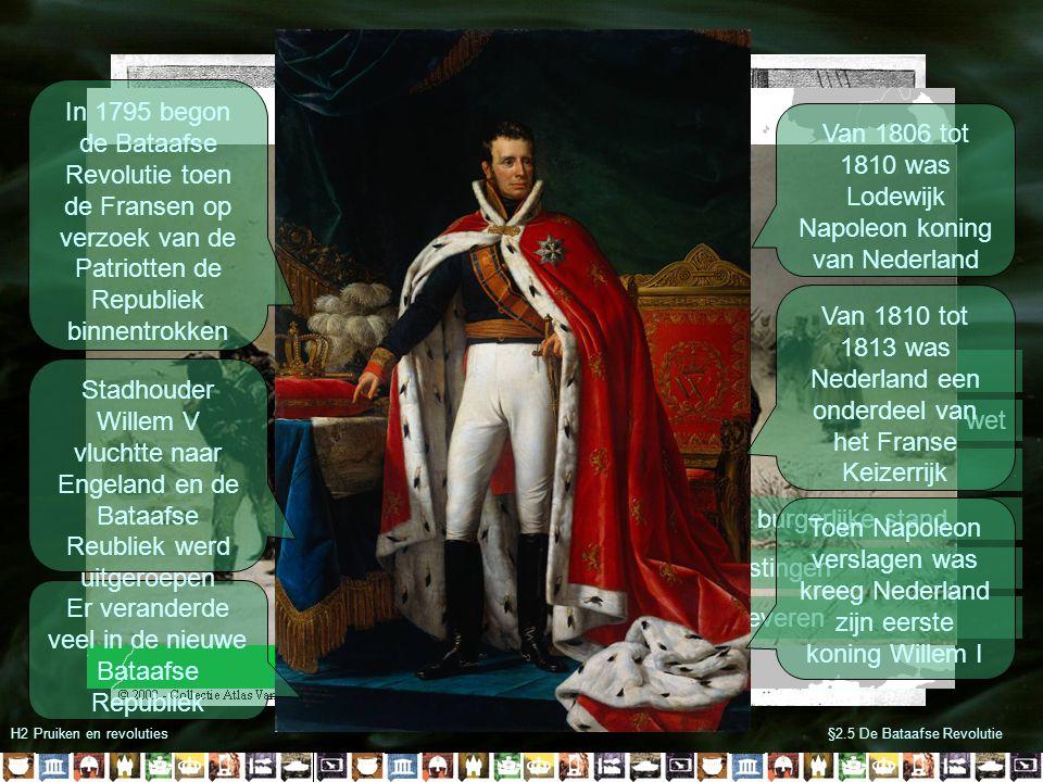 Van 1806 tot 1810 was Lodewijk Napoleon koning van Nederland