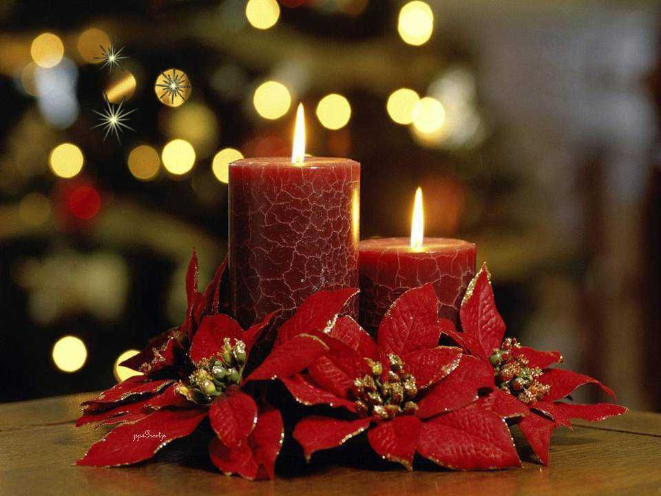 Rondom je heen zie je het licht dan is Kerstfeest in zicht