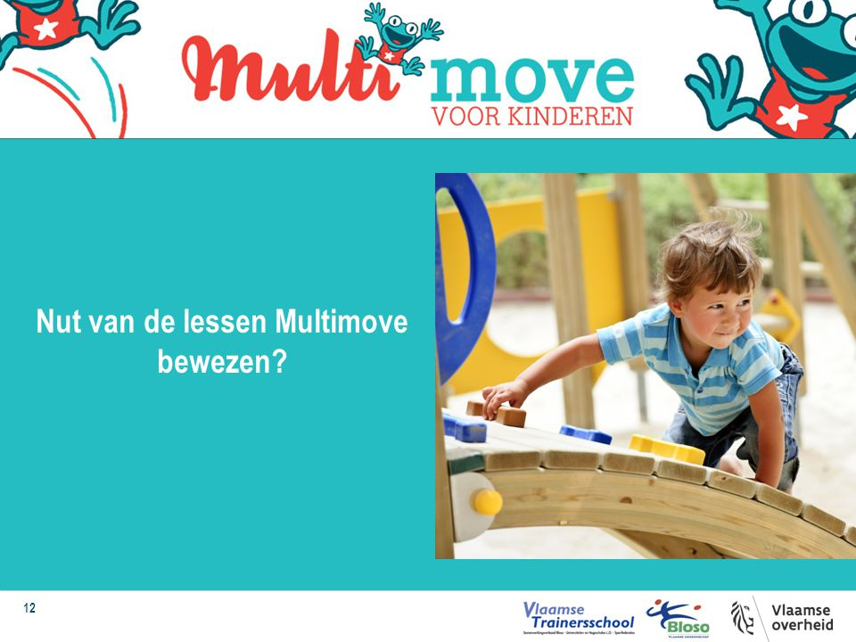 Nut van de lessen Multimove bewezen