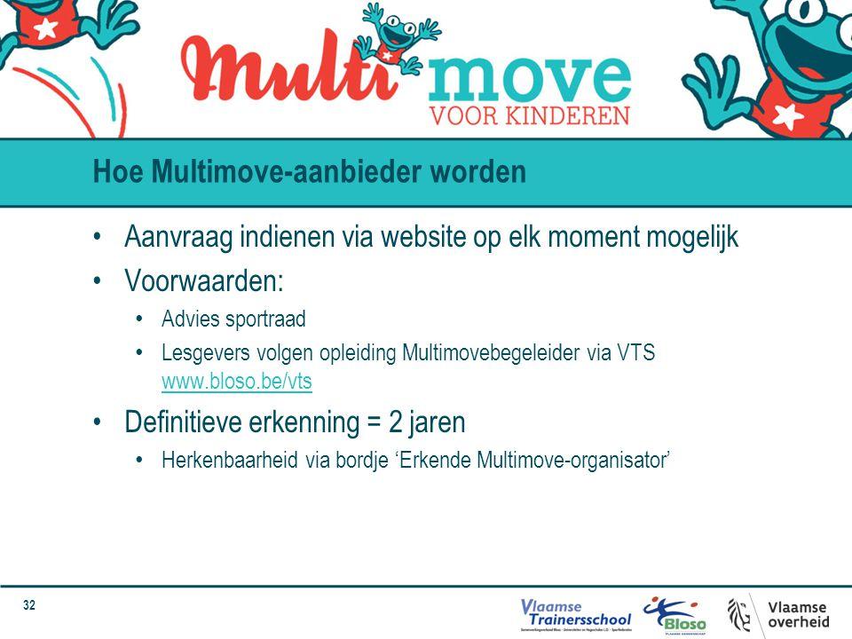 Hoe Multimove-aanbieder worden