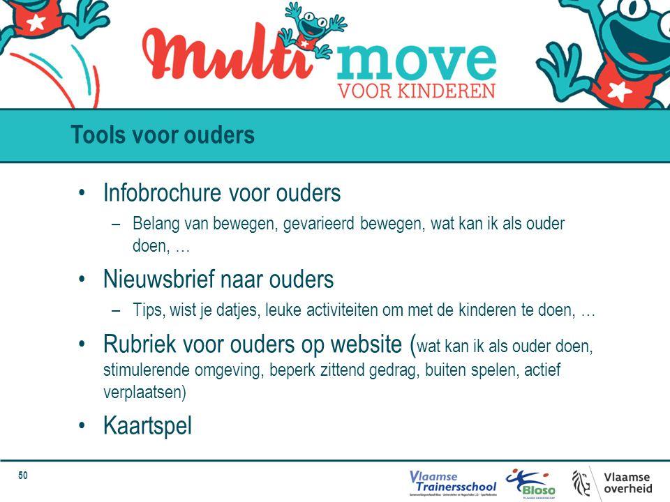 Infobrochure voor ouders