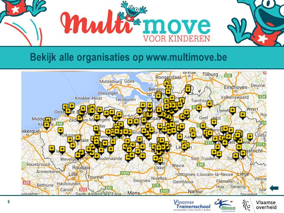 Bekijk alle organisaties op www.multimove.be