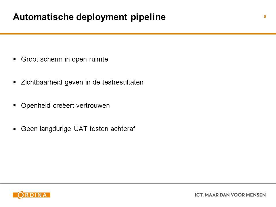 Automatische deployment pipeline