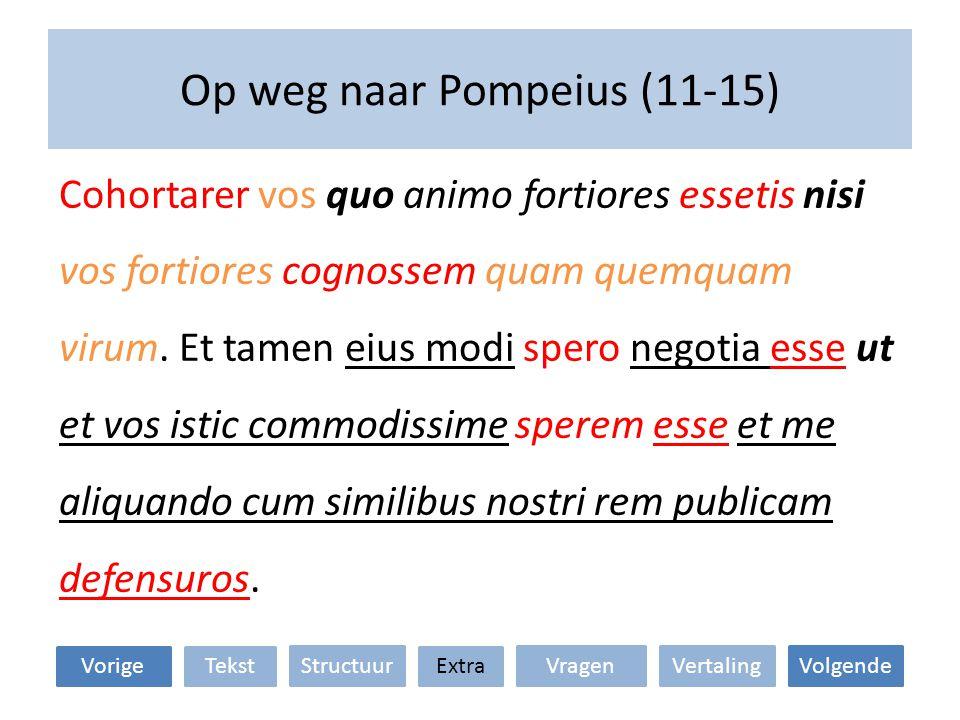 Op weg naar Pompeius (11-15)